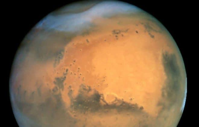 Mars vue par Hubble en 2001