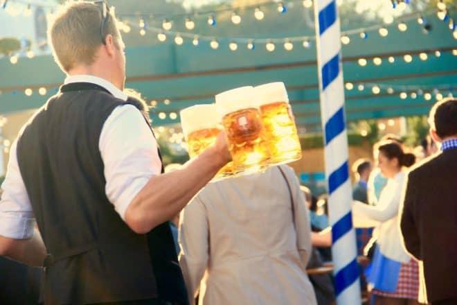 Illustration. L'Oktoberfest à Munich.