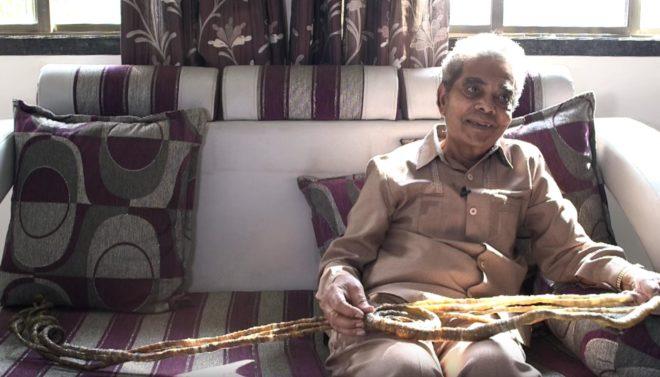 Shridhar Chillal et ses ongles en 2015.