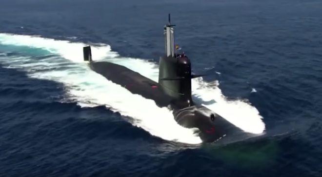 Le sous-marin espagnol S-80 Plus.