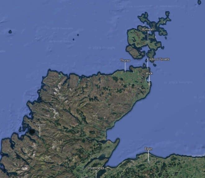 La région du Sutherland, en Ecosse