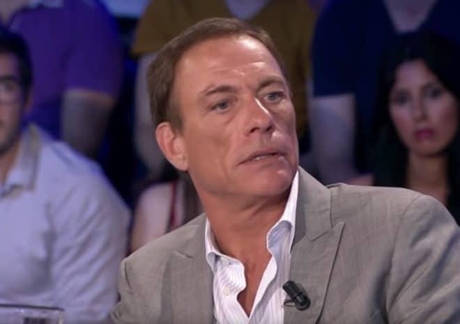 Jean-Claude Van Damme sur le plateau de ONPC (juin 2018)