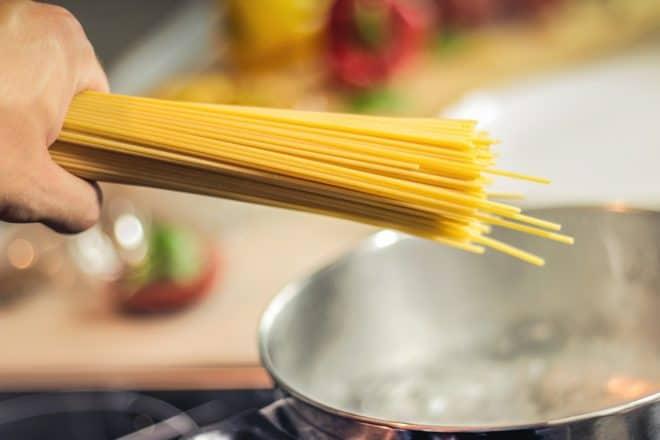 Des spaghetti. Image d'illustration.
