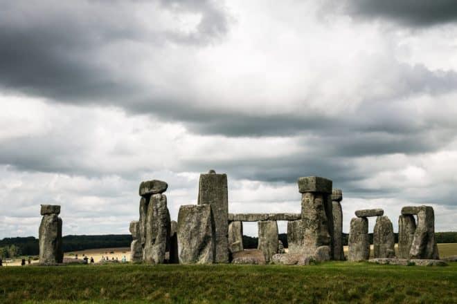 Le site préhistorique de Stonehenge, au Royaume-Uni.