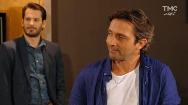 """Eric Fava et Christian (Les Mystères de l'Amour saison 18, épisode 9 """"Rentrée agitée"""")"""