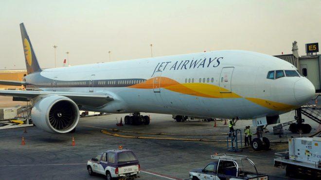 Un Boeing Jet Airways. Image d'illustration.