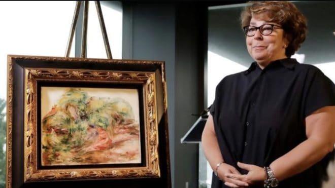 La toile de Renoir restituée à Sylvie Sulitzer.