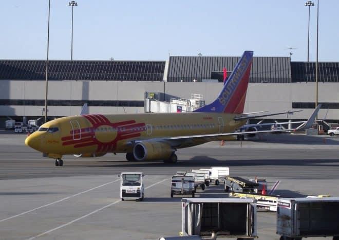 Un avion de Southwest Airlines. Image d'illustration.