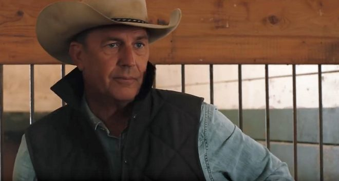 """Kevin Costner dans """"Yellowstone"""""""