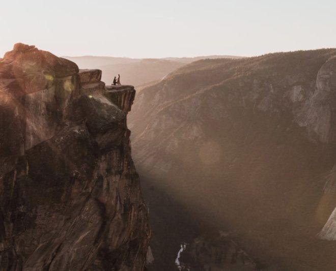 La photo prise par Matthew Dippel dans le parc de Yosemite en octobre 2018