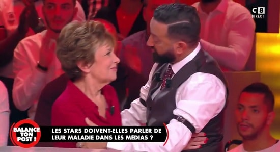 Catherine Laborde et Cyril Hanouna.