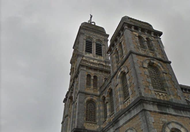 L'église de Granville, dans la Manche
