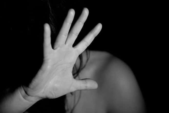 Une femme en proie à des violences. Image d'illustration.