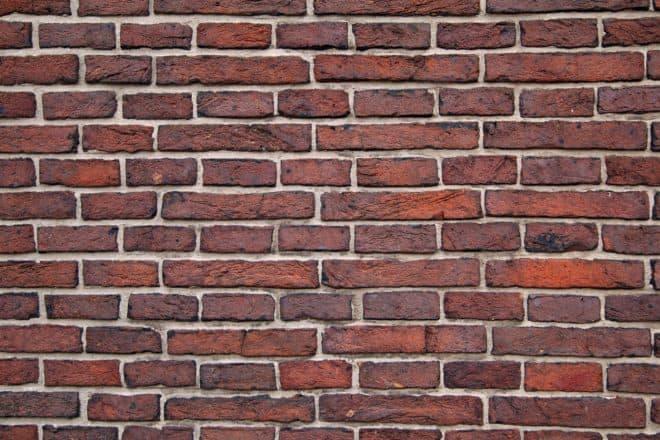 Illustration. un mur en briques.