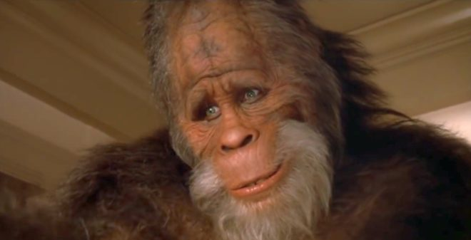 """Le Bigfoot de la série """"Harry et les Henderson"""". Image d'illustration."""
