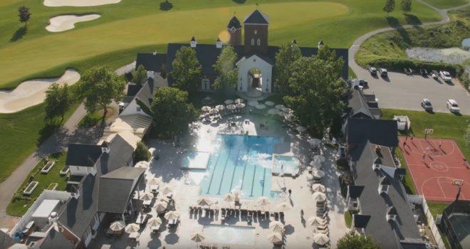 Le Trump National Golf Club à Bedminster, dans le New Jersey (États-Unis)