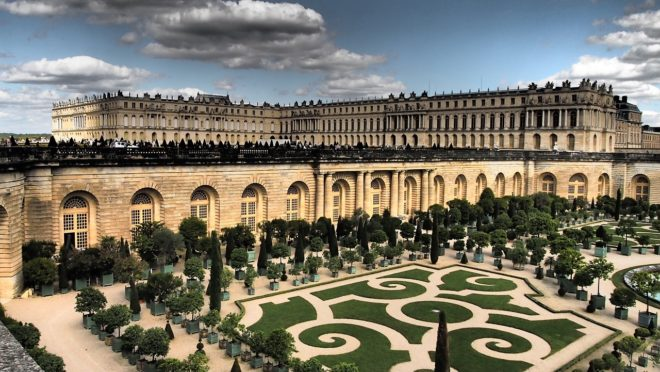 Le château de Versailles. Image d'illustration.