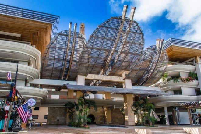 Un centre commercial en Nouvelle-Calédonie. Image d'illustration.