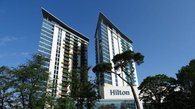 Un hôtel Hilton. Image d'illustration.
