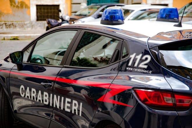 Photo d'illustration. Une véhicule des carabiniers italiens.