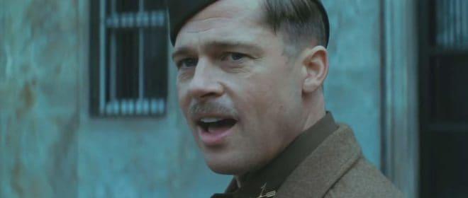 """Brad Pitt dans """"Inglourious Basterds"""""""