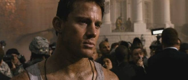 "Channing Tatum dans ""White House Down"""