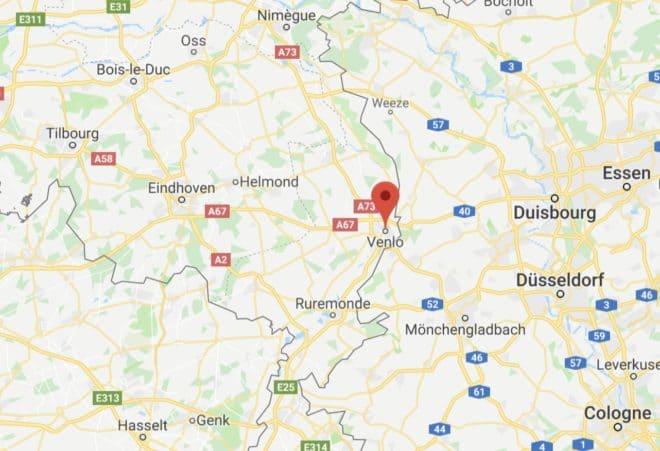 Venlo, aux Pays-Bas.