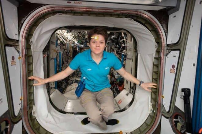 Anne McLain, astronaute de la Nasa.