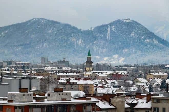 Ljubljana, capitale de la Slovénie.