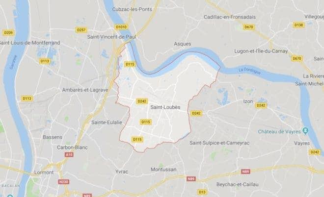 Saint-Loubès, en Gironde.
