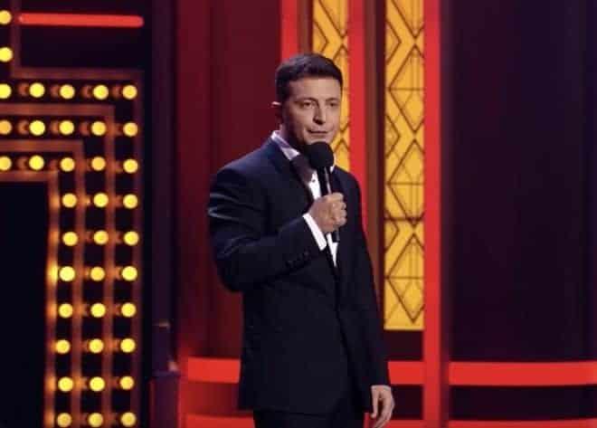 Le comédien et humoriste Volodymy Zelensky.