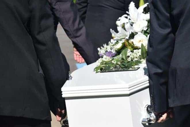 Un cercueil. Image d'illustration.
