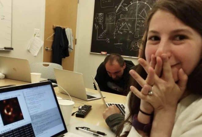 Katie Bouman, à l'origine de la première photo d'un trou noir.