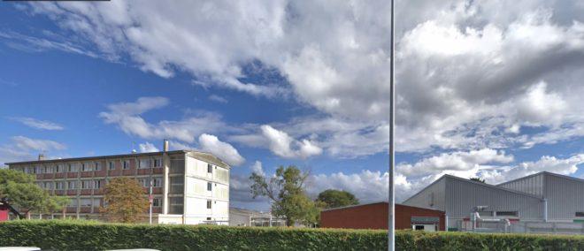 Le lycée Montel de Colomiers.