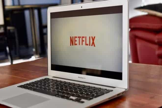 Illustration. Le service de vidéos à la demande Netflix.