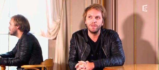 Le dramaturge Florian Zeller en interview en 2016.