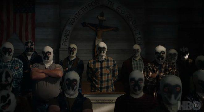 Capture écran de la bande-annonce de la série Watchmen de HBO.