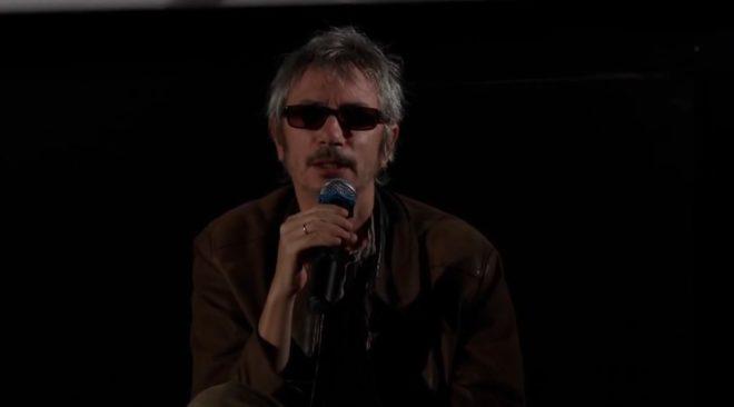 Le réalisateur Leos Carax en master class (2013).