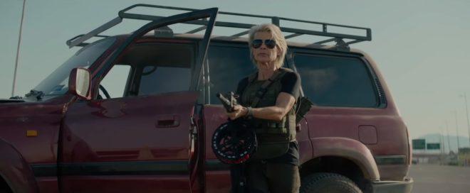 Linda Hamilton dans Terminator:Dark Fate