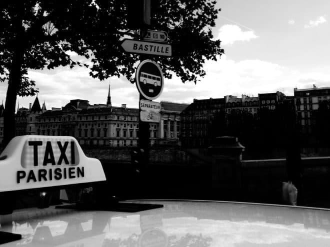 Un taxi parisien. Image d'illustration.