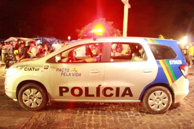 Une voiture de la police brésilienne. Image d'illustration.