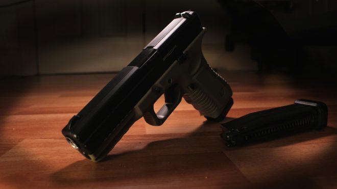 Photo d'illustration. Un pistolet Glock.