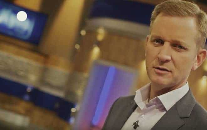 Jeremy Kyle, animateur du show éponyme sur la chaîne ITV.