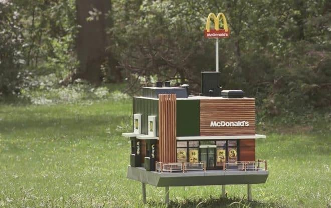 Le restaurant McDonald's pour abeilles.