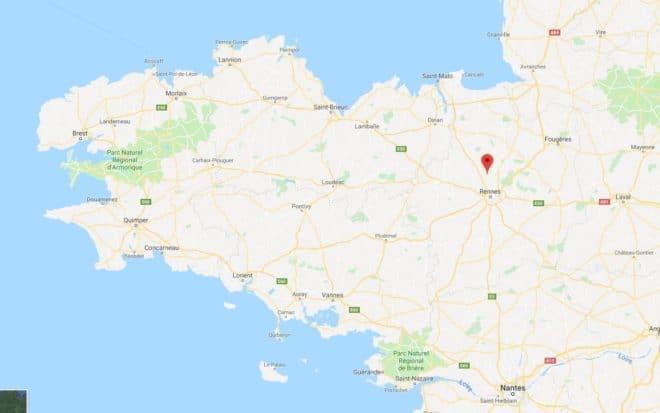 Un futur couplé marié reçoit pour cadeau la rénovation de leur maison à Melesse (Ille-et-Vilaine, Bretagne)