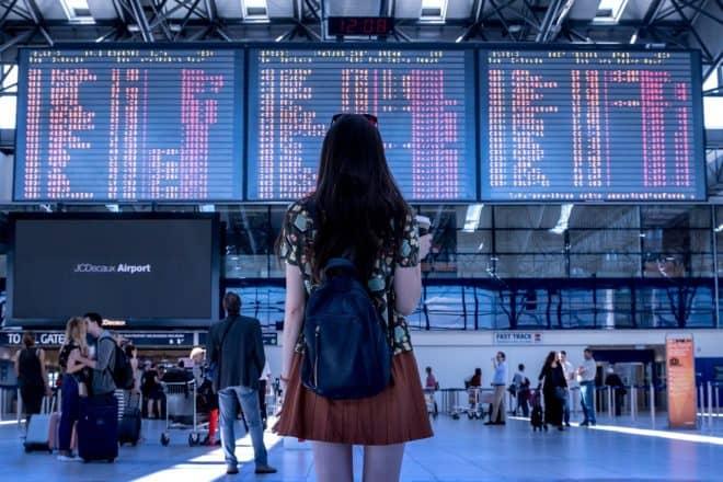 Un aéroport. Image d'illustration.