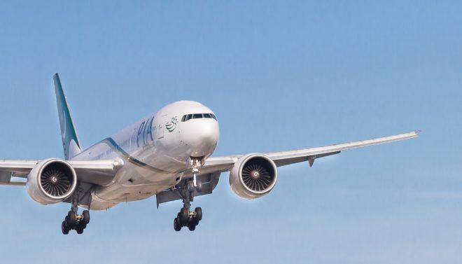 Un avion de la Pakistan International Airlines (PIA).