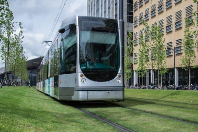Un tramway. Image d'illustration.