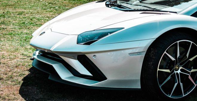 Une Lamborghini Aventador. Image d'illustration.