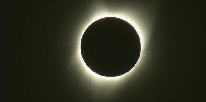 L'éclipse solaire de 2017 aux États-Unis.